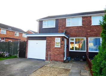 Thumbnail 3 bedroom semi-detached house for sale in Witham Way, Paston, Peterborough