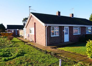 Thumbnail 2 bed semi-detached bungalow for sale in Nursery Road, Downham Market