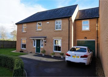 Thumbnail 4 bed detached house for sale in Penwald Court, Peterborough