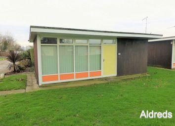 Thumbnail 2 bed detached house for sale in Broadside Chalet Park, Stalham