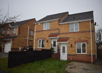 Thumbnail 2 bed semi-detached house to rent in Crow Croft Road, Pilsley, Chesterfield