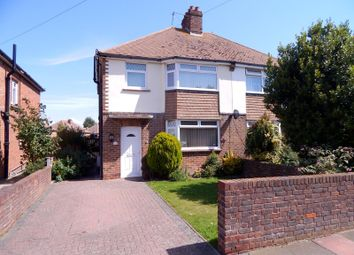 Thumbnail 3 bed semi-detached house to rent in Churchdale Road, Eastbourne