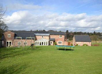 Thumbnail 4 bed barn conversion for sale in Adlington Road, Wilmslow