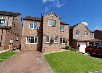 Thumbnail 3 bed detached house for sale in Hallam Close, Barrow-Upon-Humber