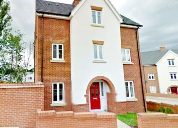 Thumbnail 4 bed semi-detached house for sale in Cliff Court, Northampton