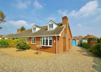 Thumbnail 3 bed property for sale in Ashley Drive, Frettenham, Norwich