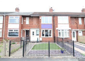 Thumbnail 2 bed terraced house to rent in Danube Road, Hull