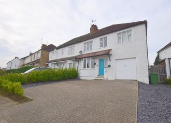 Thumbnail 4 bed semi-detached house for sale in Newton Road, Bletchley, Milton Keynes