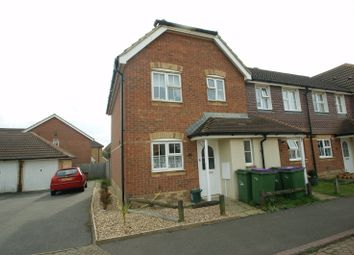 Thumbnail 3 bed end terrace house to rent in Grice Close, Hawkinge, Folkestone