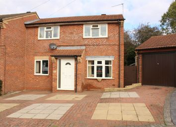 Thumbnail 3 bed semi-detached house for sale in Pine Close, Lutterworth