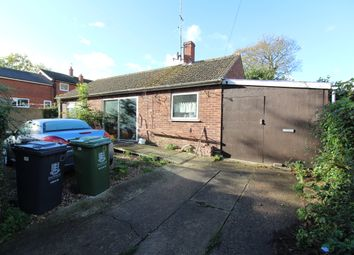 Thumbnail 2 bed detached bungalow for sale in Damgate Lane, Martham, Great Yarmouth