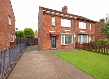 Thumbnail 2 bed semi-detached house for sale in Craster Avenue, Forest Hall, Newcastle Upon Tyne