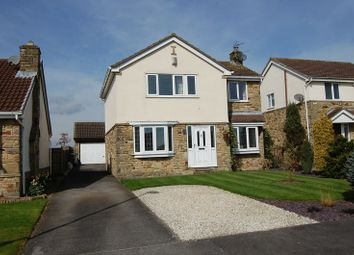 Thumbnail 4 bedroom detached house for sale in Village Fold, Kirkby Fleetham, Northallerton