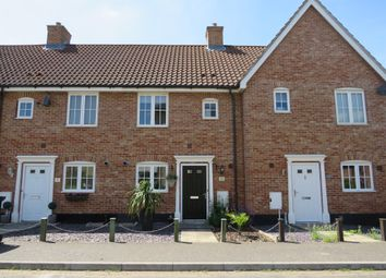 Thumbnail 2 bed terraced house for sale in Ryefield Road, Mulbarton, Norwich
