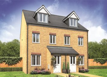 "Thumbnail 3 bed semi-detached house for sale in ""The Souter"" at Frenze Hall Lane, Diss"