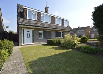 Thumbnail 3 bed semi-detached house for sale in Wrington Close, Little Stoke, Bristol