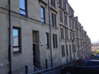 Thumbnail 1 bedroom flat to rent in Cardross Street, Dennistoun, Glasgow