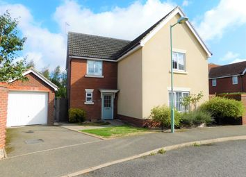 Thumbnail 4 bed detached house for sale in Manning Road, Bury St. Edmunds
