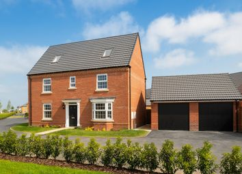 "Thumbnail 5 bed detached house for sale in ""Moorecroft"" at Station Road, Warboys, Huntingdon"