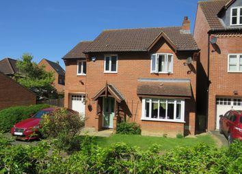 Thumbnail 4 bed detached house for sale in Langton Drive, Two Mile Ash, Milton Keynes
