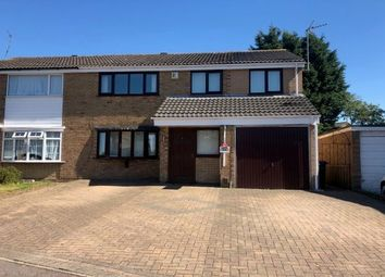 Thumbnail 5 bed semi-detached house to rent in Torrington Close, Wigston