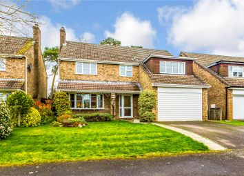 Thumbnail 4 bed detached house for sale in Hepplewhite Close, Baughurst, Tadley, Hampshire