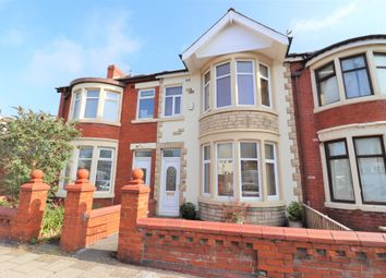 Thumbnail 3 bed terraced house for sale in Coleridge Road, Blackpool