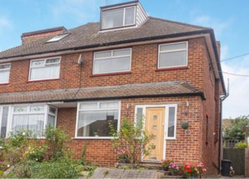 Thumbnail 5 bed semi-detached house for sale in Longmarsh View, Dartford