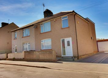 Thumbnail 3 bed semi-detached house for sale in Knockhall Road, Greenhithe