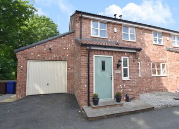 Thumbnail 3 bed semi-detached house to rent in High Street, Brotherton, Knottingley