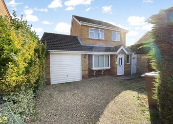 Thumbnail 3 bed detached house for sale in Elmtree Road, Ruskington, Sleaford