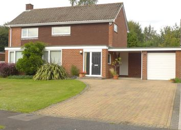 Thumbnail 4 bed detached house for sale in Churchill Close, Hartley Wintney, Hook