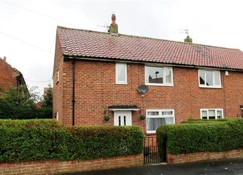 Thumbnail 2 bed semi-detached house for sale in Naworth Drive, Westerhope, Newcastle Upon Tyne