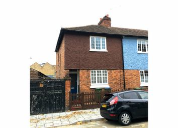 Thumbnail 2 bed end terrace house for sale in Hoskins Street, Greenwich, London