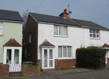 Thumbnail 2 bed semi-detached house for sale in Church Hill Avenue, Bexhill-On-Sea