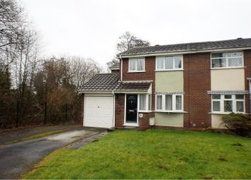 Thumbnail 4 bed semi-detached house for sale in Beeches Croft, Fradley, Lichfield