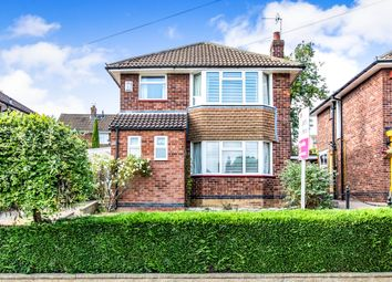 Thumbnail 3 bedroom detached house for sale in Cliffe Road, Gonerby Hill Foot, Grantham