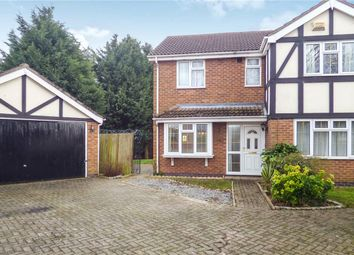 Thumbnail 4 bed detached house for sale in Swift Close, Syston, Leicester, Leicestershire