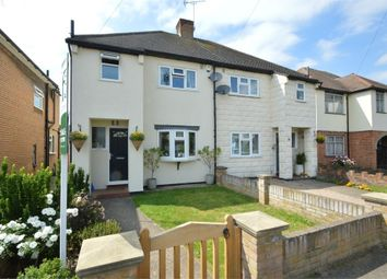 Thumbnail 3 bed semi-detached house for sale in Molesey Close, Hersham, Walton-On-Thames