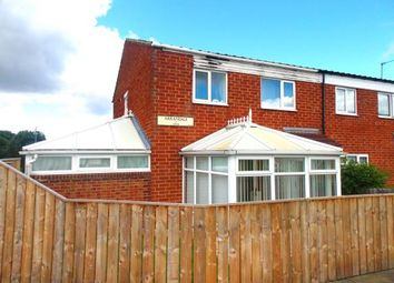 Thumbnail 3 bed end terrace house for sale in Arrandale, Hemlington, Middlesbrough