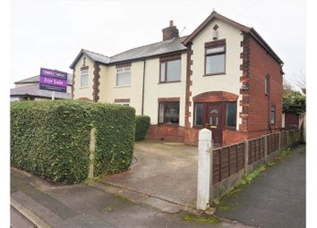 Thumbnail 3 bed semi-detached house for sale in Flag Lane, Preston