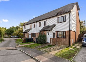 Thumbnail 2 bed end terrace house for sale in Riverside Close, Kingsnorth, Ashford