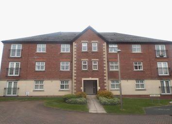 Thumbnail 2 bed flat for sale in Regency Walk, Middlewich