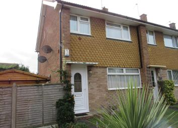 Thumbnail 3 bed end terrace house for sale in Hilary Close, Herne Bay