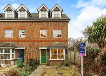 Thumbnail 4 bed end terrace house for sale in Crowhurst Crescent, Storrington, Pulborough, West Sussex