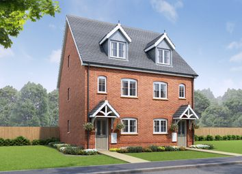 Thumbnail 3 bedroom semi-detached house for sale in The Snowdon, The Oaks, Rossmore Road East, Ellesmere Port, Cheshire