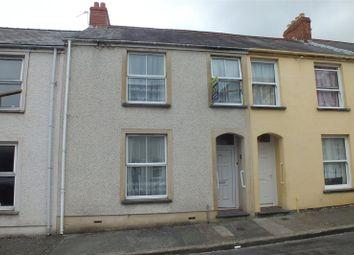 Thumbnail 3 bed terraced house for sale in Wellington Street, Pembroke Dock, Pembrokeshire