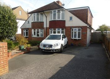 Thumbnail 4 bed semi-detached house for sale in Broad Road, Willingdon, Eastbourne