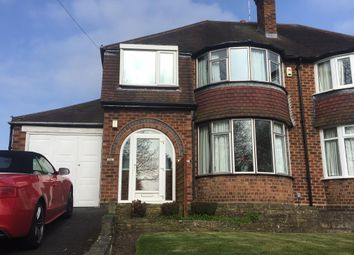 Thumbnail 3 bed property to rent in Streetsbrook Road, Solihull