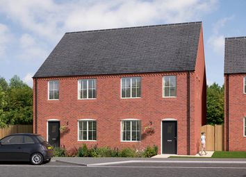 """Thumbnail 3 bedroom terraced house for sale in """"The Kempton"""" at Brandon Road, Swaffham"""